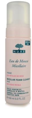 Nuxe Cleansers and Make-up Removers spuma de curatat pentru piele normala si mixta