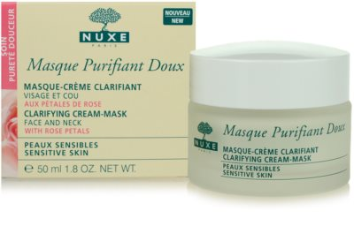 Nuxe Cleansers and Make-up Removers mascarilla limpiadora para pieles sensibles 1