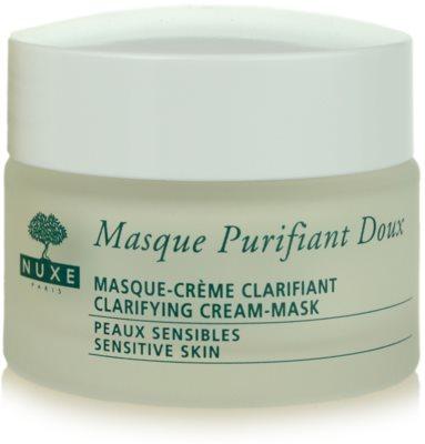 Nuxe Cleansers and Make-up Removers очищаюча маска для чутливої шкіри