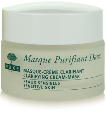 Nuxe Cleansers and Make-up Removers máscara de limpeza para pele sensível 1