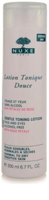 Nuxe Cleansers and Make-up Removers oczyszczający tonik do skóry normalnej i suchej