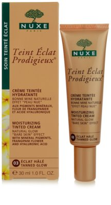 Nuxe Maquillage Prodigieux tonisierende hydratierende Creme 1