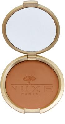 Nuxe Maquillage Prodigieux pudra compacta pentru bronzat pentru fata si corp