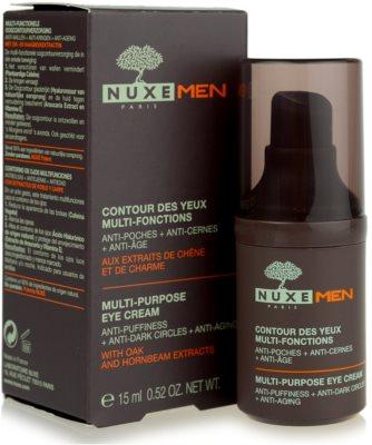 Nuxe Men przeciwzmarszczkowy krem pod oczy  przeciw obrzękom i cieniom 2