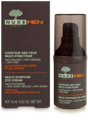Nuxe Men przeciwzmarszczkowy krem pod oczy  przeciw obrzękom i cieniom 3