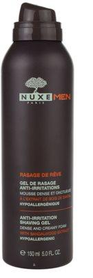 Nuxe Men gel na holení proti podráždení a svědění pokožky 1