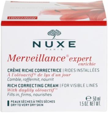 Nuxe Merveillance krém proti vráskám pro suchou až velmi suchou pleť 4
