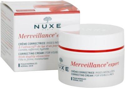 Nuxe Merveillance Anti-Falten Creme für Normalhaut 2