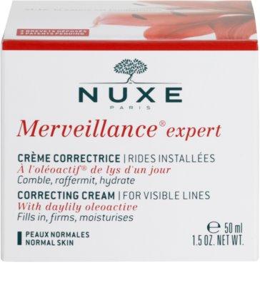 Nuxe Merveillance Anti-Falten Creme für Normalhaut 4