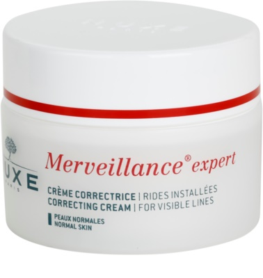 Nuxe Merveillance creme antirrugas para pele normal