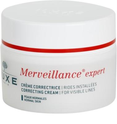 Nuxe Merveillance крем против бръчки за нормална кожа