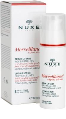 Nuxe Merveillance sérum efecto lifting para todo tipo de pieles 2