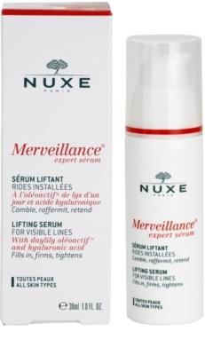 Nuxe Merveillance sérum efecto lifting para todo tipo de pieles 3