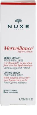 Nuxe Merveillance sérum efecto lifting para todo tipo de pieles 4