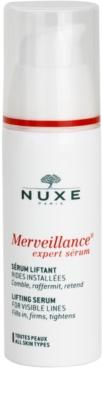 Nuxe Merveillance лифтинг серум за всички типове кожа на лицето