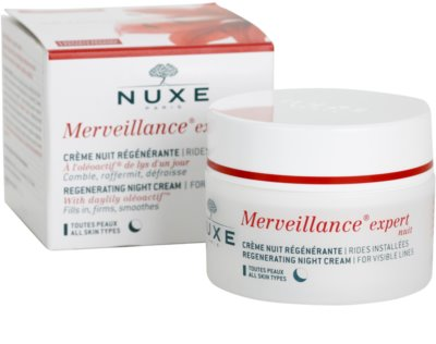 Nuxe Merveillance regenerujący krem na noc do wszystkich rodzajów skóry 2