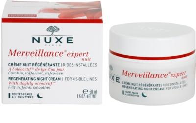 Nuxe Merveillance regenerujący krem na noc do wszystkich rodzajów skóry 3