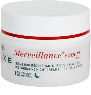 Nuxe Merveillance regenerujący krem na noc do wszystkich rodzajów skóry