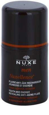Nuxe Men Nuxellence energizáló folyadék a bőröregedés ellen