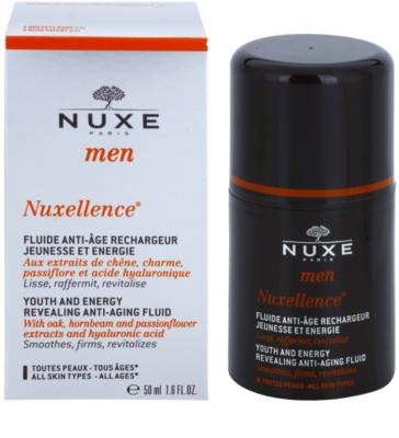 Nuxe Men Nuxellence energizující fluid proti stárnutí pleti 2