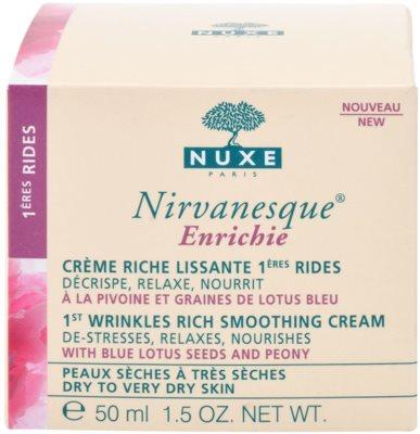Nuxe Nirvanesque krem wygładzający do skóry suchej i bardzo suchej 2