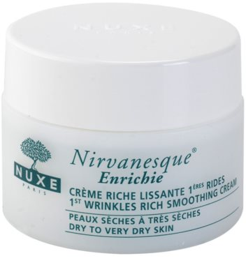 Nuxe Nirvanesque crema tonifianta uscata si foarte uscata