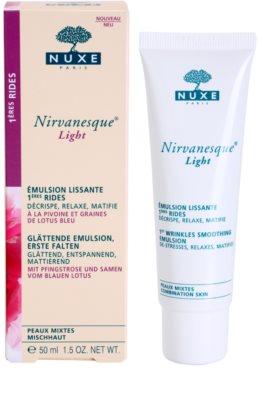 Nuxe Nirvanesque emulzió az első ráncokra kombinált bőrre 2