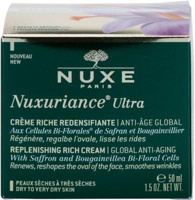 Nuxe Nuxuriance Ultra creme rejuvenescedor nutritivo para pele seca a muito seca 2
