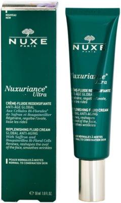Nuxe Nuxuriance Ultra crema fluida rejuvenecedora para pieles normales y mixtas 1