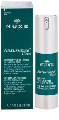 Nuxe Nuxuriance Ultra krem odmładzający do konturów oczu i ust przeciw zmarszczkom, opuchnięciom i cieniom pod oczami 1