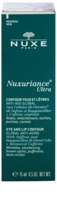 Nuxe Nuxuriance Ultra омолоджуючий крем для шкіри навколо очей та губ від  зморшок, набряків та темних кіл під очима 2