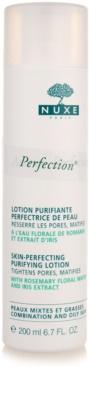 Nuxe Aroma-Perfection apa pentru purificarea tenului pentru ten mixt si gras