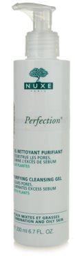 Nuxe Aroma-Perfection gel de curatare pentru ten mixt si gras