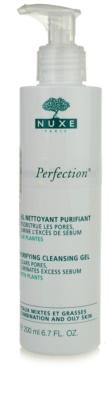 Nuxe Aroma-Perfection gel limpiador para pieles mixtas y grasas