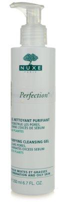 Nuxe Aroma-Perfection tisztító gél kombinált és zsíros bőrre