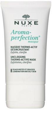 Nuxe Aroma-Perfection máscara de limpeza para pele mista e oleosa