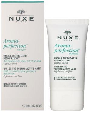Nuxe Aroma-Perfection máscara de limpeza para pele mista e oleosa 1