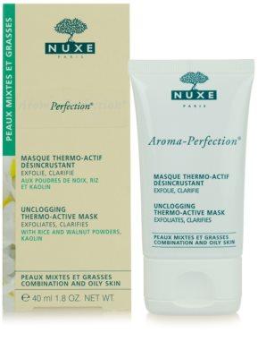 Nuxe Aroma-Perfection máscara de limpeza para pele mista e oleosa 4