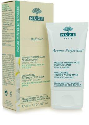 Nuxe Aroma-Perfection máscara de limpeza para pele mista e oleosa 5