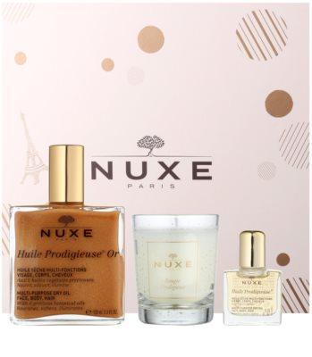 Nuxe Huile Prodigieuse OR lote cosmético I.