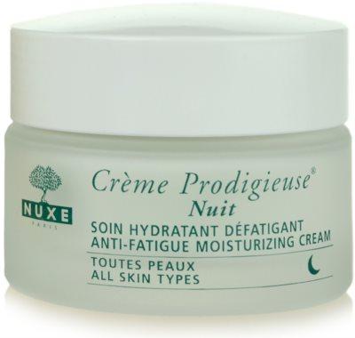 Nuxe Creme Prodigieuse crema de noche hidratante para todo tipo de pieles