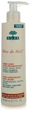 Nuxe Reve de Miel crema corporal para pieles secas