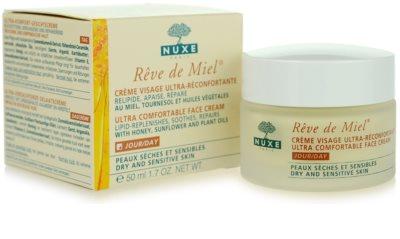 Nuxe Reve de Miel nawilżająco - odżywczy krem na dzień do skóry suchej 2