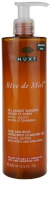 Nuxe Reve de Miel tisztító gél száraz bőrre