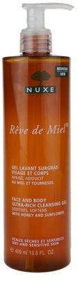 Nuxe Reve de Miel очищуючий гель для сухої шкіри