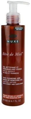 Nuxe Reve de Miel tisztító gél az érzékeny száraz bőrre