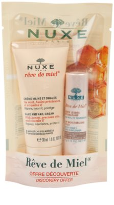 Nuxe Reve de Miel zestaw kosmetyków II.