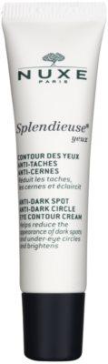 Nuxe Splendieuse Crema pentru ochi împotriva petelor de pigment și cearcane