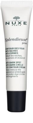 Nuxe Splendieuse крем для шкіри навколо очей проти пігментних плям та темних кіл під очима