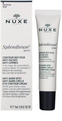Nuxe Splendieuse Crema pentru ochi împotriva petelor de pigment și cearcane 1